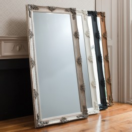 Abbey Leaner Mirror - different frame colours available