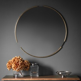 Fitzroy Round Mirror - different frame colours available