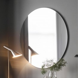 Hayle Round Mirror - Different Frame Colours