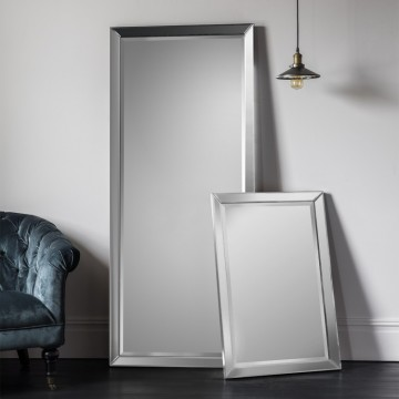 Luna Leaner Mirror - different frame colours available