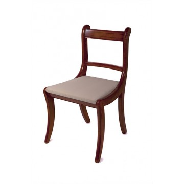 A202 Scroll Dining Chair made as a Carver (made with arms)