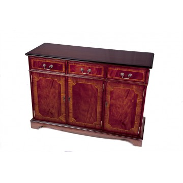 A302 4ft 3 Door Sideboard