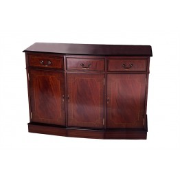 A305 4ft 3 Door Canted Sideboard