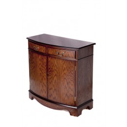 A306 3ft Bow Front Sideboard