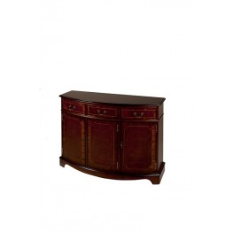 A307 3 Door Bow Sideboard