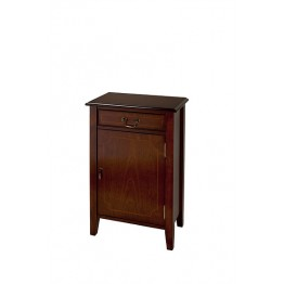 A513 One Door Hall Cupboard with with Sheraton Legs