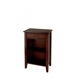 A515 One Drawer Open Hall Cupboard with Sheraton Legs