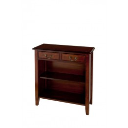 A516 Two Drawer Open Hall Cupboard with Sheraton Legs