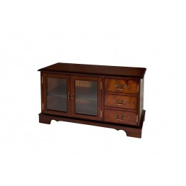 A605 TV Cabinet with Storage Cupboard