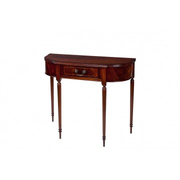 A703 Bow Hall Table with Drawer