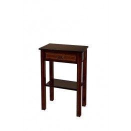 A704 Chippendale Style Hall Table with Drawer