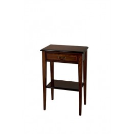 A706 Hall Table with Drawer - Sheraton Style Leg