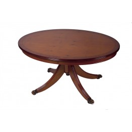 A801 Oval Coffee Table