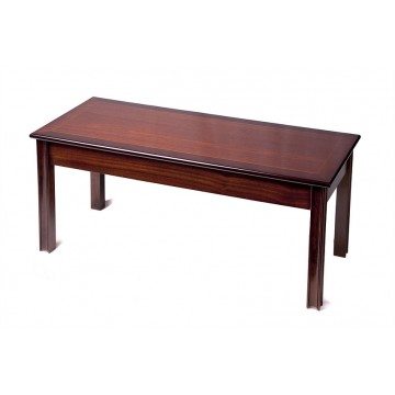 A804 Chippendale Leg Oblong Coffee Table