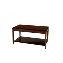 A807 Sheraton Leg Oblong Coffee Table