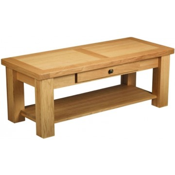 Bretagne Coffee Table with Drawer - B301