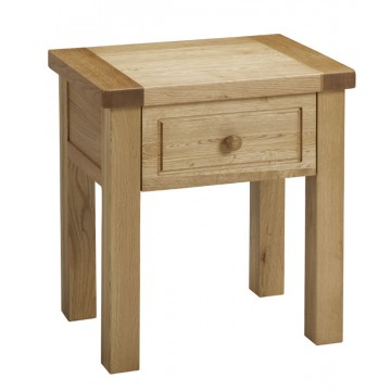 Bretagne Lamp Table with drawer - B318