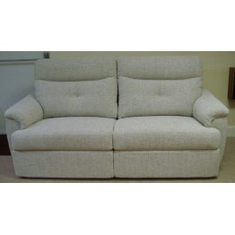 SHOWROOM CLEARANCE ITEM - G Plan Atlanta Suite - three seater sofa, chair and powered recliner chair.