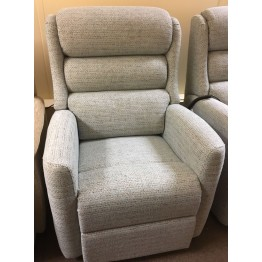 SHOWROOM CLEARANCE ITEM - RISER RECLINER - Celebrity Somersby Petite Dual Motor Lift and Tilt Recliner