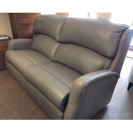 SHOWROOM CLEARANCE ITEM - Celebrity Furniture Langham Leather Sofa & Power Recliner
