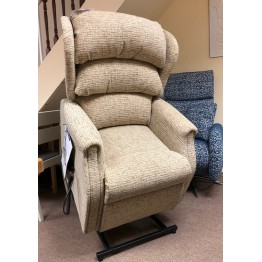 SHOWROOM CLEARANCE ITEM - RISER RECLINER - Celebrity Westbury Standard Dual Motor Lift and Tilt Recliner without arm front knuckles