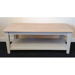 SHOWROOM CLEARANCE ITEM - Charltons Furniture Somerdale Coffee Table with Shelf