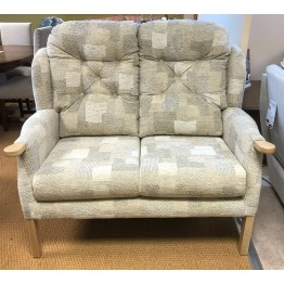 SHOWROOM CLEARANCE ITEM - Cintique Eton Wing 2 Seater Sofa