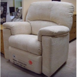 SHOWROOM CLEARANCE ITEM - G Plan Chloe - small size 3 seater sofa, small size chair and standard size power recliner.