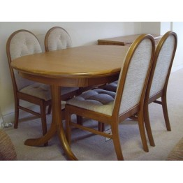 SHOWROOM CLEARANCE ITEM - Sutcliffe Trafalgar Collection Dining Table and Four Chairs