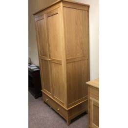 SHOWROOM CLEARANCE ITEM - Corndell Nimbus 1224 Wardrobe in Satin Lacquer Finish