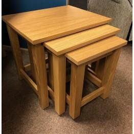 SHOWROOM CLEARANCE ITEM - Corndell Nimbus Nest of Tables - Model 1268 (2784)