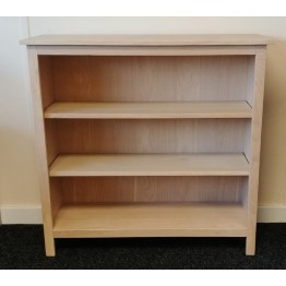 SHOWROOM CLEARANCE ITEM - Corndell Nimbus Bookcase in Mist Finish - Model 1276