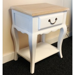 SHOWROOM CLEARANCE ITEM - Corndell Cheltenham 3977 Nightstand or Bedside Chest or Lamp Table