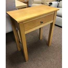 SHOWROOM CLEARANCE ITEM - Corndell Nimbus Console Table with 1 Drawer - Model 7966