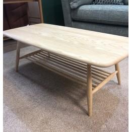 SHOWROOM CLEARANCE ITEM - Ercol Furniture Originals Coffee Table 7459 in Clear Matt finish
