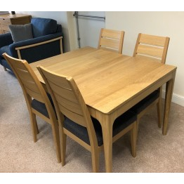 SHOWROOM CLEARANCE ITEM - Ercol Furniture Romana Dining Suite