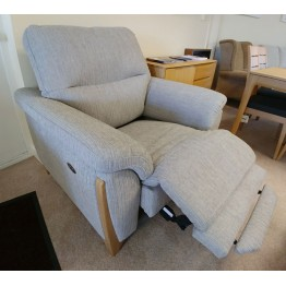SHOWROOM CLEARANCE ITEM - Ercol Furniture Enna Medium Sofa and Power Recliner