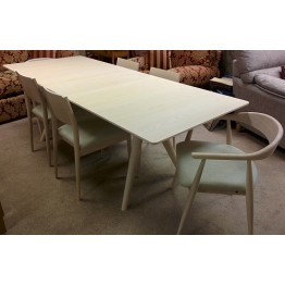 SHOWROOM CLEARANCE ITEM - Ercol Amelia Dining Suite - Table and Chairs
