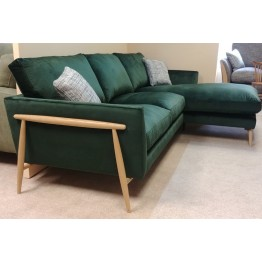SHOWROOM CLEARANCE ITEM - Ercol Furniture Forli Chaise Sofa - RHF