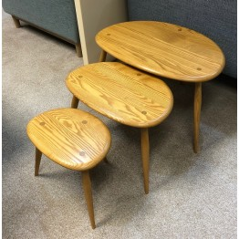 SHOWROOM CLEARANCE ITEM - Ercol Furniture Originals 354 Nest in Light finish