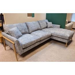 SHOWROOM CLEARANCE ITEM - Ercol Furniture Forli Chaise Sofa - RHF