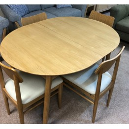 SHOWROOM CLEARANCE ITEM - Ercol Furniture Teramo Dining Suite - Small Table and 4 Chairs - 3660 - 3663