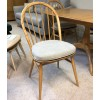 SHOWROOM CLEARANCE ITEM - Ercol Windsor Table and 4 Chairs - Models 1192 and 1877