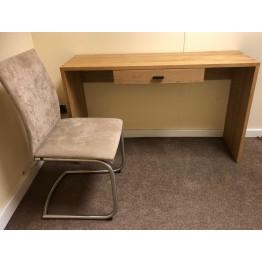 SHOWROOM CLEARANCE ITEM - Hudson Living Gallery Direct Kielder Desk/Console Table & Skovby Chair