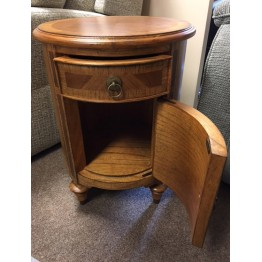 SHOWROOM CLEARANCE ITEM - Frank Hudson Spire Drum Table