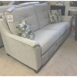 SHOWROOM CLEARANCE ITEM - G Plan Hepworth Power Reclining 3 Seater Sofa with a Fixed Chair & Soho Footstool - Gallery Collection