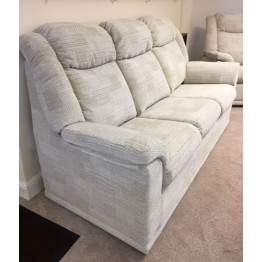 SHOWROOM CLEARANCE ITEM - G Plan Milton 3 Seater Sofa with one fixed chair and one powered recliner chair