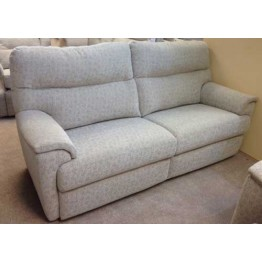 SHOWROOM CLEARANCE ITEM - G Plan Watson Suite - Three Seater Sofa, Power Recliner & Chair