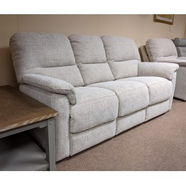 SHOWROOM CLEARANCE ITEM - G Plan Chadwick Suite - 3 Seater Sofa, Power Recliner & Chair