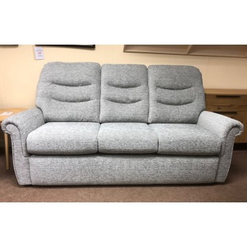 SHOWROOM CLEARANCE ITEM - G Plan Holmes 3 Seater Sofa and Power Recliner